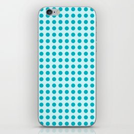 Pappy Place Polka Dots in Blue iPhone Skin