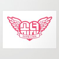 snsd Art Prints featuring My Inspiration by cuteunni