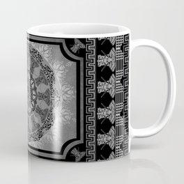 Mandala Indian Elephants Yin Yang Spiritual Zen Yoga Mantra Meditation Coffee Mug