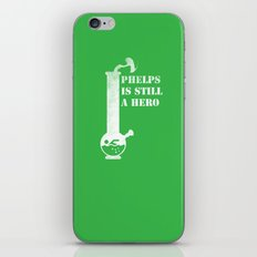 Phelps is Still A hero iPhone & iPod Skin
