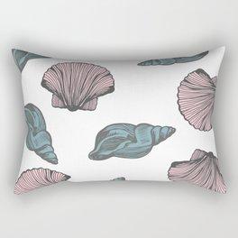 Beach Day Collection -  Shells Rectangular Pillow