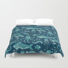 Sealife Duvet Cover