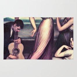 Julio Romero De Torres - Flamenco Songs And Dances Rug