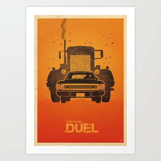 Steven Spielberg's DUEL Art Print
