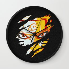 Naruto Face Wall Clock