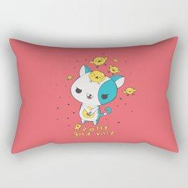Really Good Kitty Rectangular Pillow