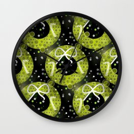 Wreath Decor Wall Clock