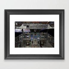 Space Shuttle NASA Framed Art Print