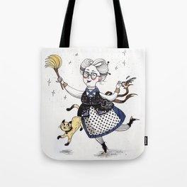 Art Prints- Witches art - Nursery Print - Nursery Prints - Nursery Art - Baby Room Wall Art - Withes Tote Bag
