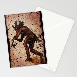 Kokopelli, The Flute Player Fresco Wall Art Stationery Cards