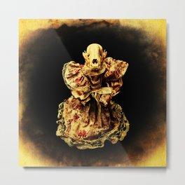 Horror In a Dress! Skull Doll Halloween Part 3 Metal Print