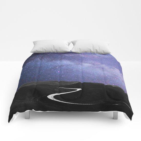 Take Me to The Stars #society6 #decor #buyart Comforters