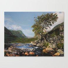 River Coe Scotland UK Canvas Print