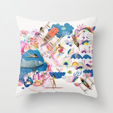 Dagat Throw Pillow