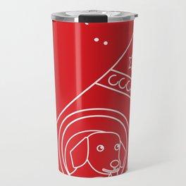 LAIKA Spacedog Travel Mug