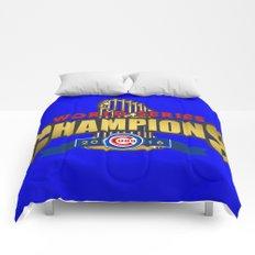Cubs World Series Winner 2016 Comforters
