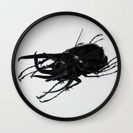 Atlas Beetle Wall Clock