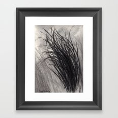 Dryness Framed Art Print