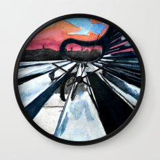 Look at it This Way Wall Clock