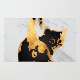 Golden Cat Rug