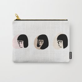 Mood faces Carry-All Pouch