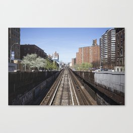 Uptown NYC Canvas Print