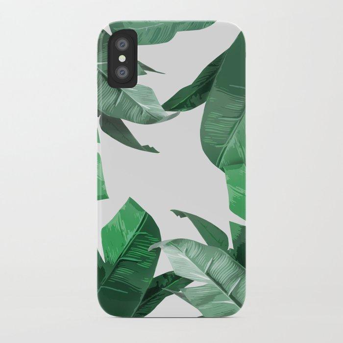 Tropical Palm Print iPhone Case