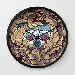 Wired Lemur Wall Clock
