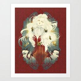Crimson Peak Art Print