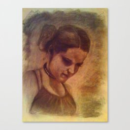Lindsey Canvas Print