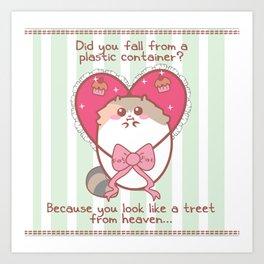 Fat Fat Valentine Art Print