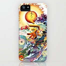 Japan Earthquake 11-03-2011 iPhone Case