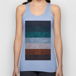 Watercolor Colorful Banners Unisex Tank Top