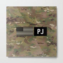 PJ (Camo) Metal Print