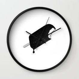 Space Melter (Redux) Wall Clock