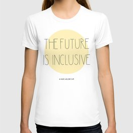 The Future Is Inclusive - Yellow T-shirt