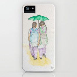 The girls at Fort Kochi iPhone Case