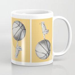 Basketball spin orange Coffee Mug