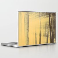 movie poster Laptop & iPad Skins featuring Prince Avalanche - Movie Poster by ahutchabove