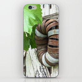 Rusty Wreath iPhone Skin