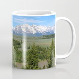 Snake River And The Grand Tetons Coffee Mug