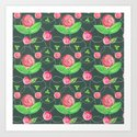 Watercolor Roses by sensualpatterns