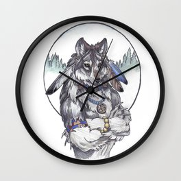 Spiritual shifting Wall Clock