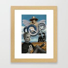 Heart is Speaking Framed Art Print
