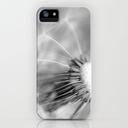 Dandelion Whispers iPhone Case