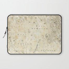 Antique Moon Map Laptop Sleeve