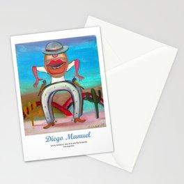 Johnny herradura by Diego Manuel. Stationery Cards