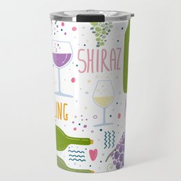 Wine festival. Things about wine Travel Mug