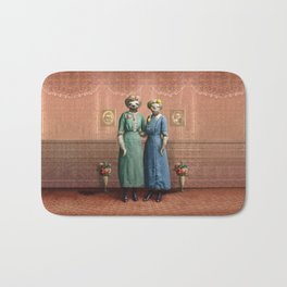 The Sloth Sisters at Home Bath Mat