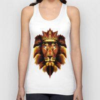 the lion king Tank Tops featuring Lion King by Mart Biemans